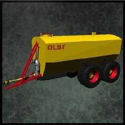 OLBY SLURRY TANK FOR FS 15