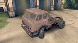 MAZ-509 Rat For Spin Tires