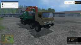 KAMAZ 6350 JENZ V2.5 FS15