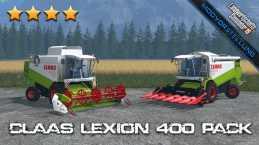 CLAAS LEXION 400 PACK V1.2.1 FS2015