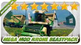KRONE BIGX 1100 BEASTPACK V12.10 BETA