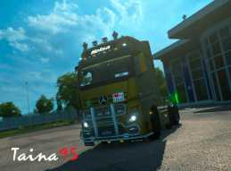 MERCEDES ACTROS MP4 V1.7 FOR ETS2