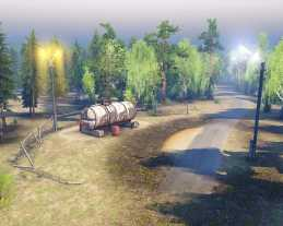 Asia-3 Map for SpinTires