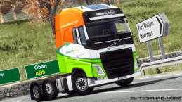 COUNTRYSTYLE RECYCLING VOLVO FH 2012 SKIN+LIGHTBOX