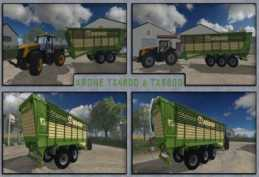 KRONE TX 460 AND TX 560 D V2.0 (FIXED ERRORS AND TEXTURES) FS15