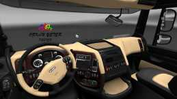 DAF XF INTERIOR BY OZKANYETER 1.21.X ETS2