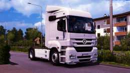 MERCEDES BENZ AXOR MP3 FIX + CABIN ACCESSORIES