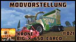 KRONE BIG X 650 CARGO V3.0 BETA