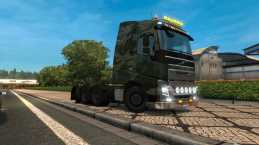VOLVO FH16 2012 8X4*2 1.21 FOR ETS 2
