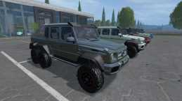 MERCEDES-BENZ G63 AMG 6X6 V2 FOR FS15