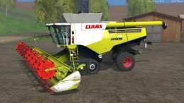 CLAAS LEXION 760 TT V1.2 LS 2015