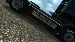 THE WALKING DEAD SCANIA V2.0 ETS2