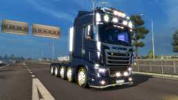 SCANIA R700 NEW 1.21.1.4 FOR ETS2