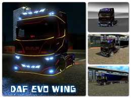 DAF EVO WING + TRAILER 1.21
