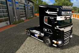 BLACK & WHITE FOR SCANIA RJL