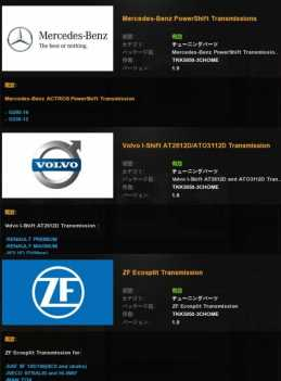 TRANSMISSIONS PACK V1.0 FOR ETS2