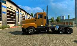 KENWORTH T600 DAY CAB 1.22.X FOR ETS2