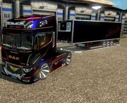 DAF EVO WING + TRAILER V1.0