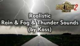 REALISTIC RAIN & THUNDER SOUNDS V1.3