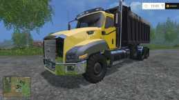 CAT T660 TRI AXLE DUMP V1.0