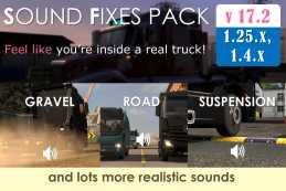 SOUND FIXES PACK V17.2 (STABLE RELEASE) FOR ATS