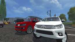 TOYOTA HILUX 2016 TURKISH MOD TEAM V1.0