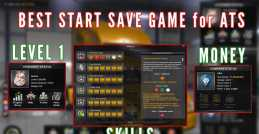 BEST START SAVE GAME (WITH MONEY AND SKILLS)