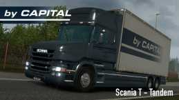 SCANIA T TANDEM – BY CAPITAL