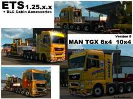 MAN HEAVY 8X4 / 10X4 V8.0