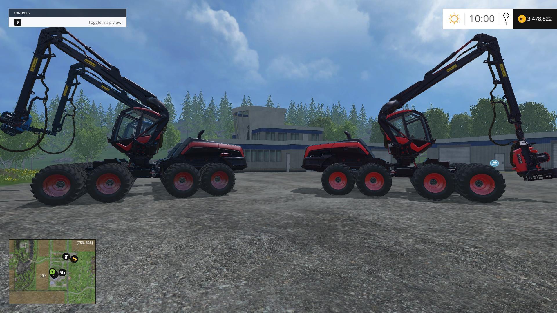 timber king v1 0 farming simulator 2015 modsking. Black Bedroom Furniture Sets. Home Design Ideas